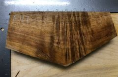 Hawaiian Koa Board Curly 4/4 #E-117