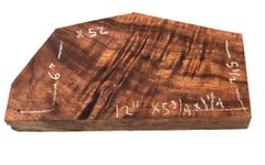 Hawaiian Koa Board Curly 5/4 #X-52