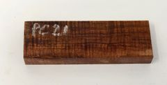 "Hawaiian Koa Board Curly 7/16"" thick #PC-21"