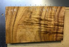 Hawaiian Koa Board Curly 4/4 #P-34