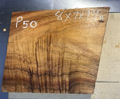 Hawaiian Koa Board Curly 5/4 #P-50
