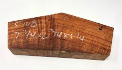 Hawaiian Koa Board Curly 4/4 #C-108