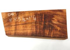 Hawaiian Koa Board Curly 5/4 #C-91