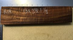 Hawaiian Koa Board Curly 4/4 #R-14