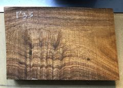 Hawaiian Koa Board Curly 4/4 #P-35