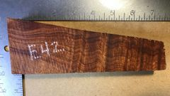 Hawaiian Koa Board Curly 4/4 #E-42