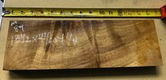Hawaiian Koa Board Curly Chocolate 4/4 #M-89