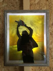 TCM1 Leatherface Shadow Box