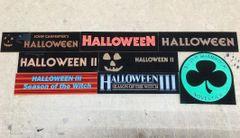 Halloween 1 thru III Based Display Plates