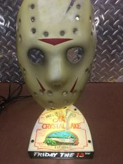 Hockey Mask Stand- Lighted and non lit