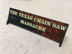 Texas Chainsaw Based Display Plates