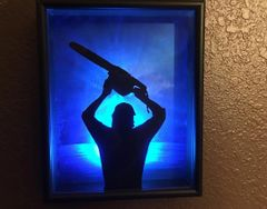 TCM3 Leatherface Shadow Box