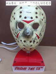 Hockey Mask Stand-Lighted