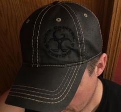 Black Adjustable GCC Hat