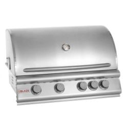 Blaze BLZ-4-NG 32 Inch 4-Burner Built-in Natural Gas Grill