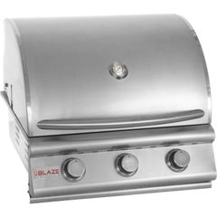 Blaze BLZ-3-NG 25 Inch 3-Burner Built-in Natural Gas Grill