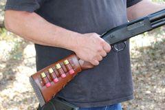 Leather Shotgun Stock Cover-Remington 870/1100, Mossberg, Benelli