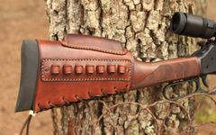 Henry Rifle stock cover with cheek riser