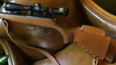 CZ 527/455 Leather Stock Cover with Cheek riser