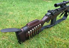 M1/M1A Butt Stock Ammo Carrier with Cheek Rest