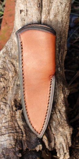 Fiddleback Forge Standard Leather Sheaths Rick Lowe