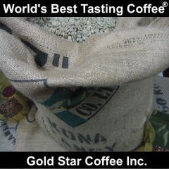 10 lb. Hawaii Kona Extra Fancy Green Unroasted