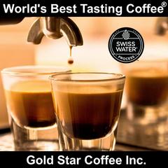 Espresso Swiss Water Decaffeinated