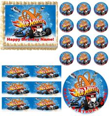 Hot Wheels Edible Party Images