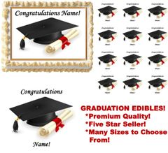 Graduation Class of 2018 Edible Cake Topper Image Frosting Sheet