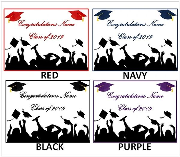 Graduation Class of 2019 Color Theme Graduates Edible Cake Topper Image, Graduation Cakes, Graduation Cupcakes, Graduation Party Celebration