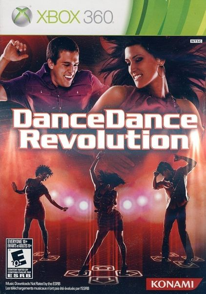 Dance Dance Revolution Xbox 360