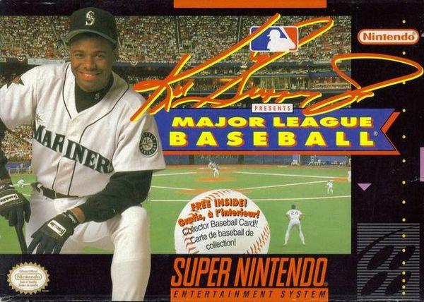 pretty nice c1e2a df88d Ken Griffey JR Baseball SNES