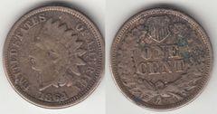 1864CN INDIAN CENT READABLE LIBERTY