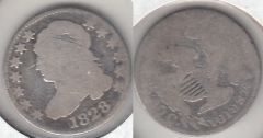 VERY SCARCE 1828 LARGE DATE BUST DIME