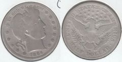 NICE GOOD 1894S BARBER HALF DOLLAR