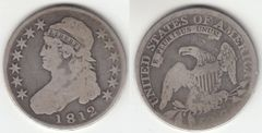 1812 BUST HALF DOLLAR EARLY DATE