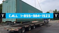 Montreal, QC - Banff, AB (BY TRUCK: 40' High-Cube Privately-Owned Intermodal Container)
