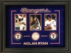 Nolan Ryan Signed Baseball Framed Shadowbox