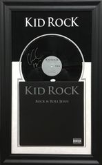 Kid Rock Signed Vinyl Album SOLD!