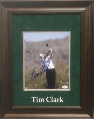 Tim Clark Signed 8x10 Golf Photo