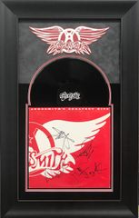 Aerosmith Greatest hits album signed by 5 SOLD!