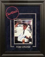 "Tom Cruise ""Cocktail"" signed 8x10 Photo"