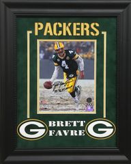 "Brett Favre ""Greenbay Packers"" Signed 8x10 photo SOLD!"