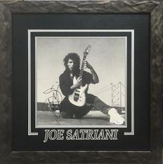 Joe Satriani Signed 10x10 Album Sleeve Framed