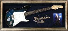 Franki Valli signed guitar