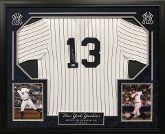 Alex Rodriguez New York Yankees Signed Jersey SOLD!
