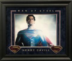 "Henry Cavill SUPERMAN ""Man Of Steel"" Signed 11x14"