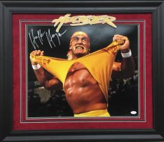 "Hulk Hogan ""Hulkster"" Signed 16x20 photo"