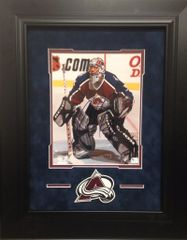 Patrick Roy Signed Colorado Avalanche 8x10 Photo. SOLD!