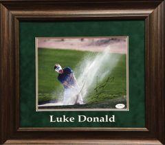 Luke Donald Signed 8x10 Golf Photo